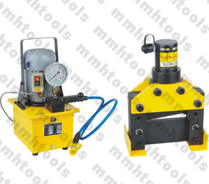 electrical pump operated hydraulic cutting machine